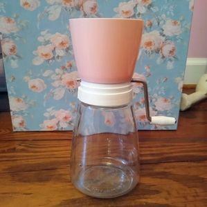 Vintage Pink Grinder